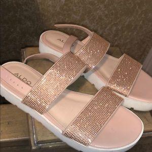 Aldo Soft pink Sandals